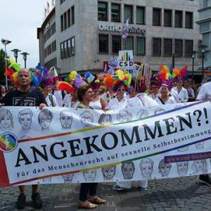 CSD Demo Bielefeld