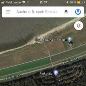 FKK Strand / Sauna 26434 Hooksiel  Parkplatz